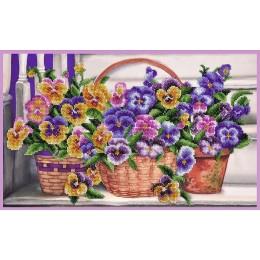 Набор для вышивки бисером - Картины бисером - На ступеньке