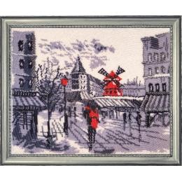 Мулен Руж в Париже (по картине О. Дарчук) - Butterfly - набор для вышивки бисером