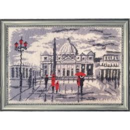 Прогулка в Риме (по картине О. Дарчук) - Butterfly - набор для вышивки бисером