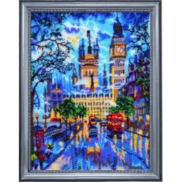 Вечерний Лондон - Butterfly - набор вышивки бисером
