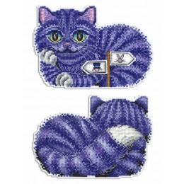 Чеширский кот - МП Студия - набор для вышивки крестом