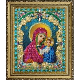 Казанская Икона Божией Матери - Картины бисером - вышивка бисером икон