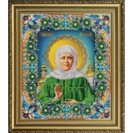 Святая Матрона Московская - Картины бисером - вышивка бисером икон