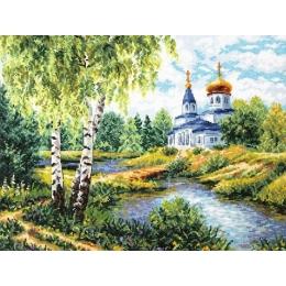 Набор для вышивки крестом - Чудесная игла - 43-10 Дорога к Храму