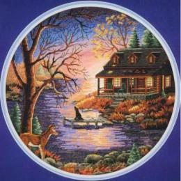 Осенний вечер - Classic Design - набор для вышивки крестом