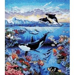 Бездонный океан - Classic Design - набор для вышивки крестом