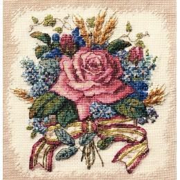 Роза в букете - Classic Design - набор для вышивки крестом