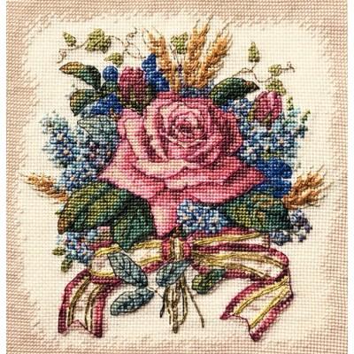 Набор для вышивки крестом - Classic Design - Роза в букете