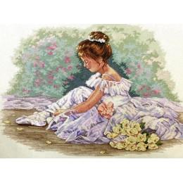 Маленькая танцовщица - Classic Design - набор для вышивки крестом