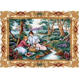 На лужайке - Classic Design - набор для вышивки крестом