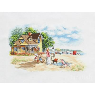 Набор для вышивки крестом - Classic Design - Дом на берегу