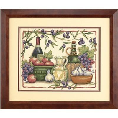 Дары Тосканы - Classic Design - набор вышивки крестом