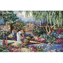 Любимый сад - Classic Design - набор для вышивки крестом