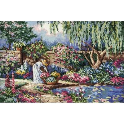 Набор для вышивки крестом - Classic Design - Любимый сад