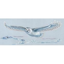 Набор для вышивки крестом - Сделай своими руками - П-47 Полярная сова