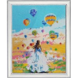 Полет мечты - Butterfly - набор для вышивки бисером