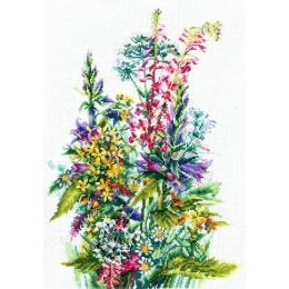 Полевые цветы - Сделай Своими Руками - набор вышивки крестом