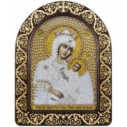 Вышивка бисером икон - Нова Слобода - Икона в рамке-киоте