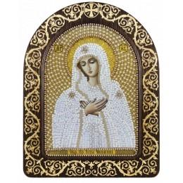 """Вышивка бисером икон - Нова Слобода - СН5006 Икона Богородица """"Умиление"""" в рамке-киоте"""