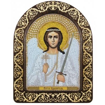"""Икона в рамке-киоте """"Ангел-Хранитель"""" - Нова Слобода - вышивка бисером икон"""