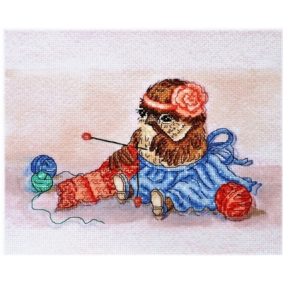 Набор вышивки крестом - Алисена - Воробушка рукодельница