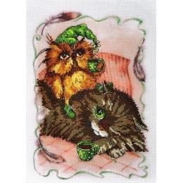 Набор для вышивки крестом - Алисена - Полуношники 5061а