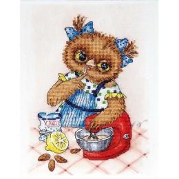 Сова кулинар - Алисена - набор вышивки крестом