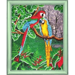 Набор для вышивки бисером - Butterfly - №514 Самоцветы джунглей
