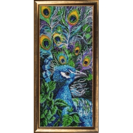Набор для вышивки бисером - Butterfly - №535 Павлин 2