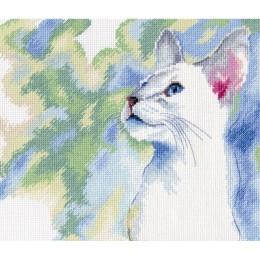 Кошачья грация / Feline grace - RTO - набор для вышивки крестом