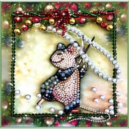 Мышка - шалунишка - Образа в каменьях - набор вышивки бисером
