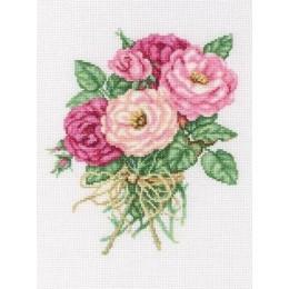 Букетик роз - RTO - набор вышивки крестом