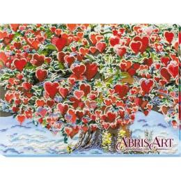 Набор для вышивки бисером - Абрис Арт - Дерево любви AB-607