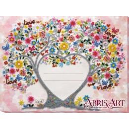 Набор для вышивки бисером - Абрис Арт - AB-611 Свадебная метрика