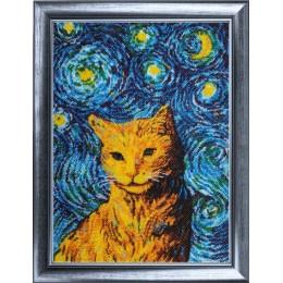 Звездный кот - Butterfly - набор вышивки бисером