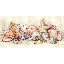 Набор для вышивки крестом - Dimensions - 65035 Морские сокровища