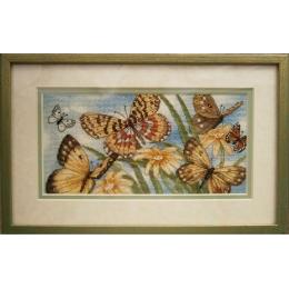 Butterfly Vignette (Виньетка с бабочками) - Dimensions - набор для вышивки крестом