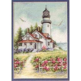 Набор для вышивки крестом - Dimensions - 65057 Scenic Lighthouse (Живописный маяк)