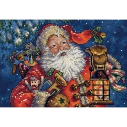 Набор для  вышивки крестом - Dimensions - 70-08865 Ночной Санта