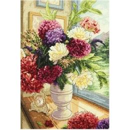 Летний букет (Summer Bouquet) - Dimensions - набор для вышивки крестом