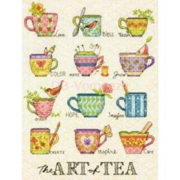 Набор для вышивки крестом - Dimensions - 70-35335 The Art of Tea (Искусство чаепития)