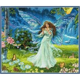 Spring Fairy (Весенняя фея) - Dimensions - набор для вышивки крестом