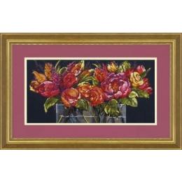 Набор для вышивки крестом - Dimensions - 70-35364 Flowers of Joy (Цветы радости)