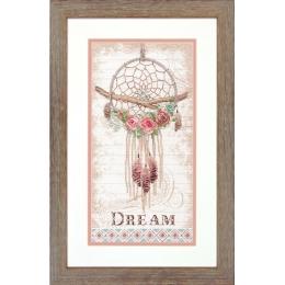 Набор для вышивки крестом - Dimensions - 70-35375 Floral Dream Catcher (Цветочный ловец снов)