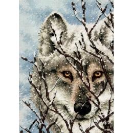 Wolf (Волк) - Dimensions - набор вышивки крестом