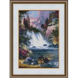 Набор для вышивки крестом - Фантазия ТМ - 700/22 Водопад