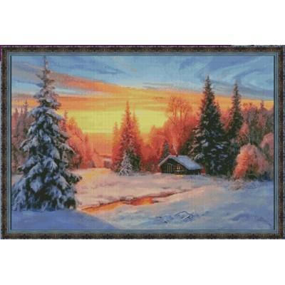 Зимовье - Фантазия ТМ - набор вышивки крестом