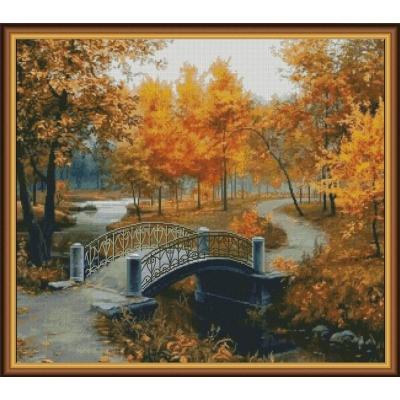 Золотая осень - Фантазия ТМ - набор вышивки крестом