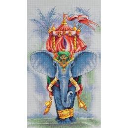Набор для вышивки крестом - PANNA - Ж-7041 Махараджа
