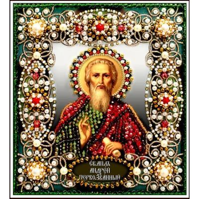 Вышивка бисером икон - Образа в каменьях - Святой Андрей Первозванный